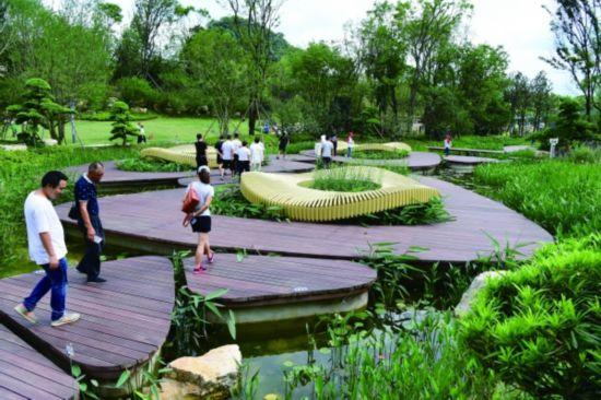 百花湖森林 公园开园