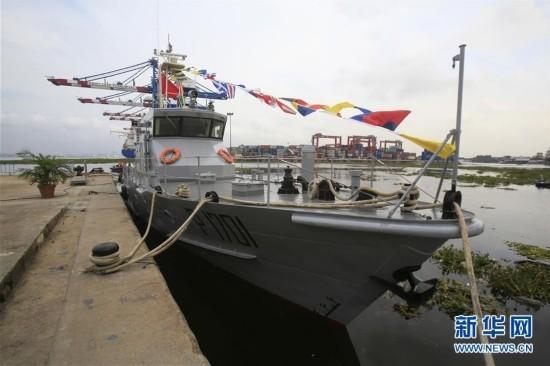 中国援科特迪瓦巡逻艇正式交付