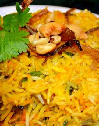 印度咖喱海鲜意大利炖饭