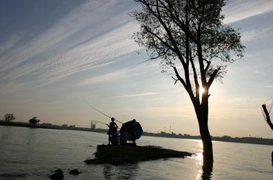 龙子湖风景区座落于蚌埠市东郊,主要由龙湖,曹山,雪华山,西芦山及