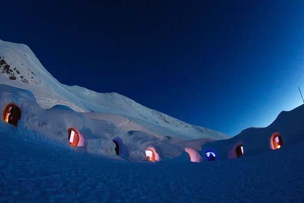 德国梦幻雪屋 体验爱斯基摩人冰雪生活图片