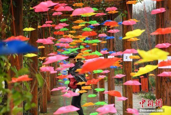 重庆10万只小风车打造彩色风车节