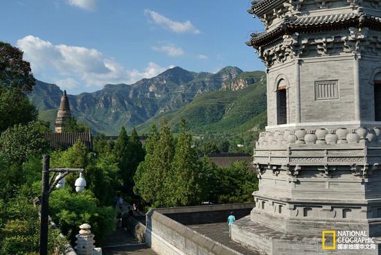 Quinze photos vous dévoilent le vieux temple Yunju en banlieue de Beijing